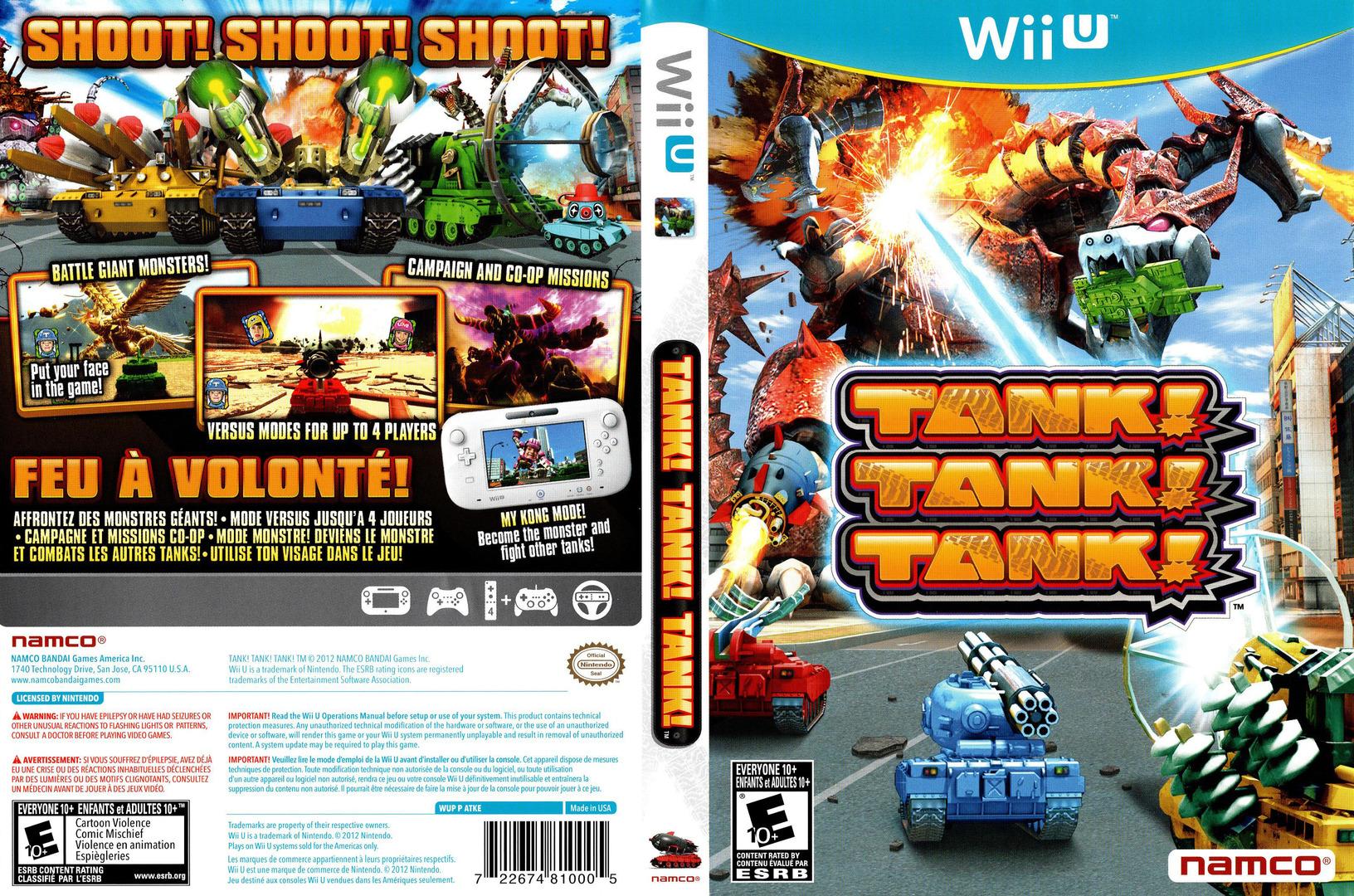 Tank! Tank! Tank! WiiU coverfullHQ (ATKEAF)