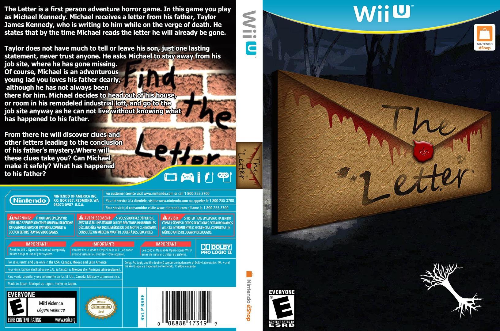 The Letter WiiU coverfullHQ (ATLE)