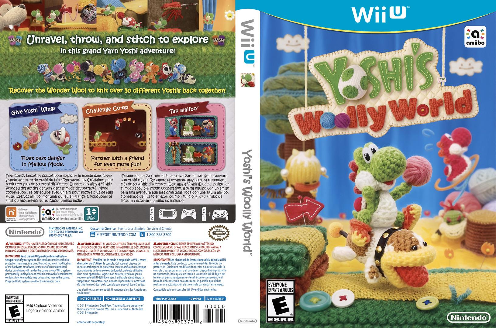 Yoshi's Woolly World WiiU coverfullHQ (AYCE01)