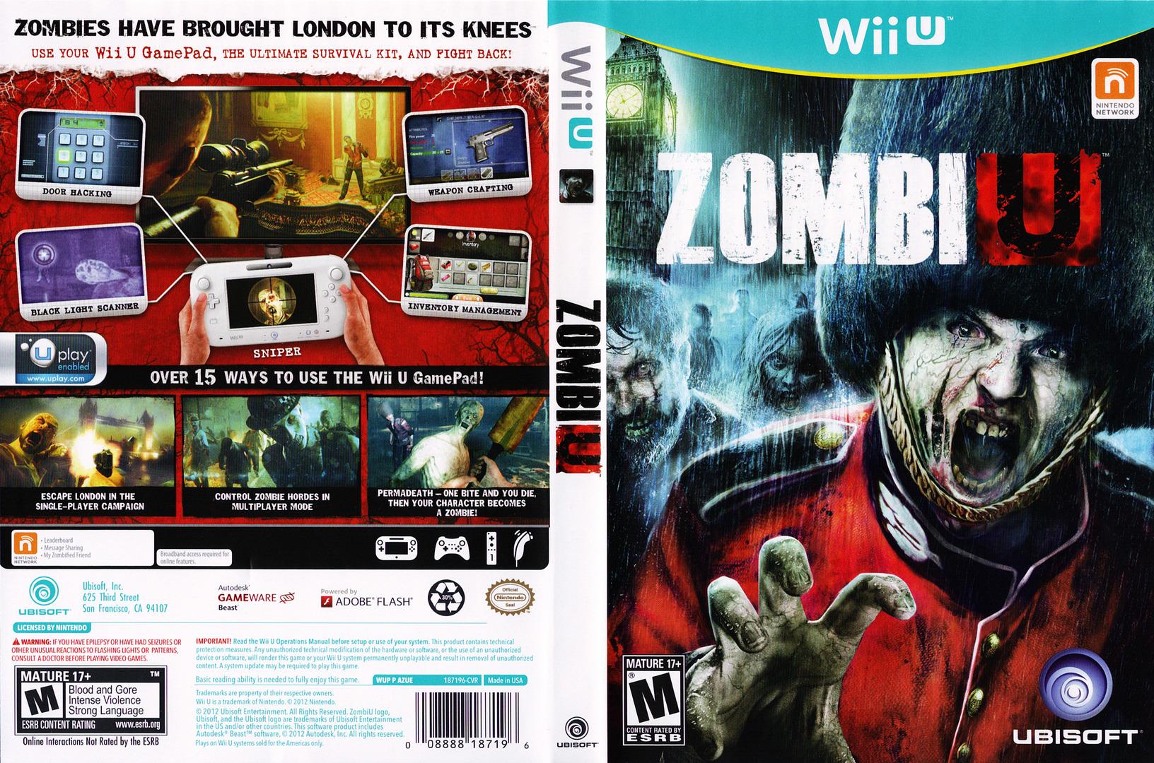 ZombiU WiiU coverfullHQ (AZUE41)