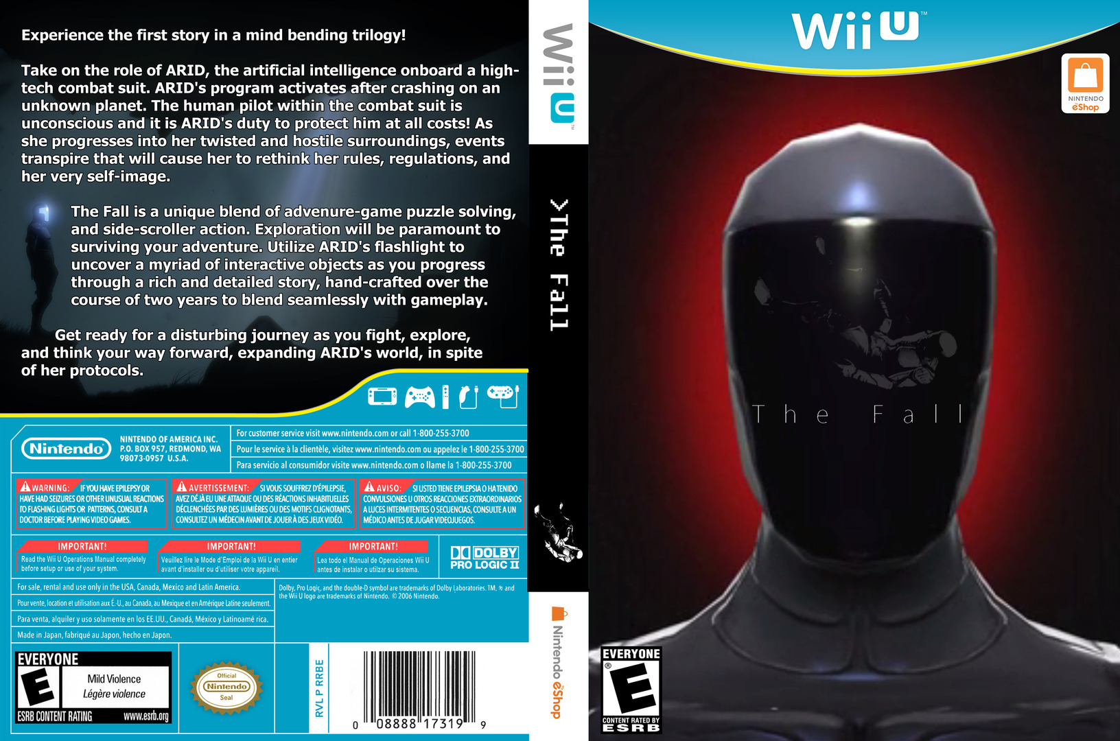 The Fall WiiU coverfullHQ (BTFE)
