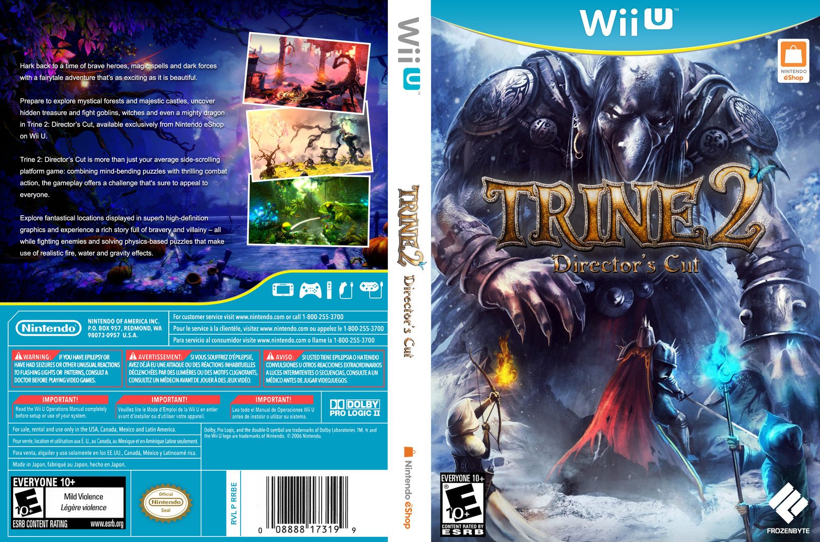 Trine 2: Director's Cut WiiU coverfullHQ (WBDE)