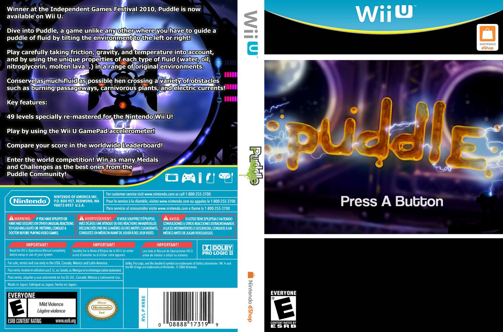 Puddle WiiU coverfullHQ (WDLE)