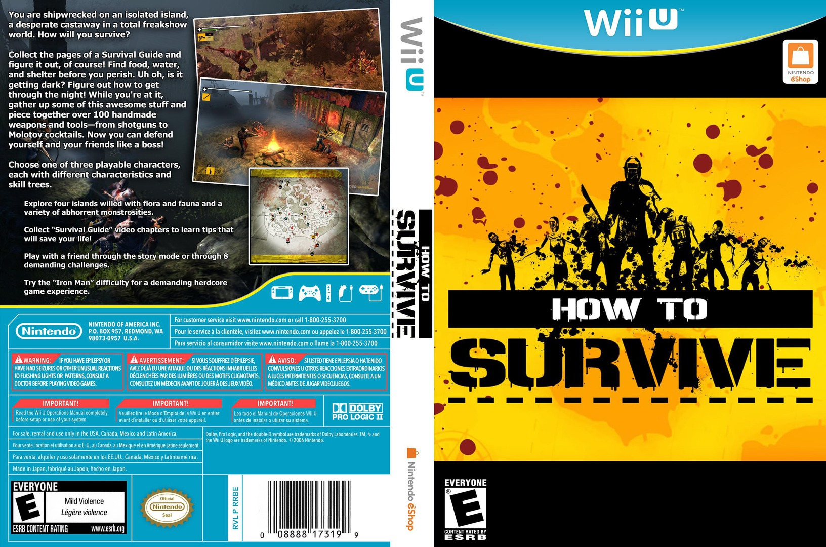 How to Survive WiiU coverfullHQ (WHTE)