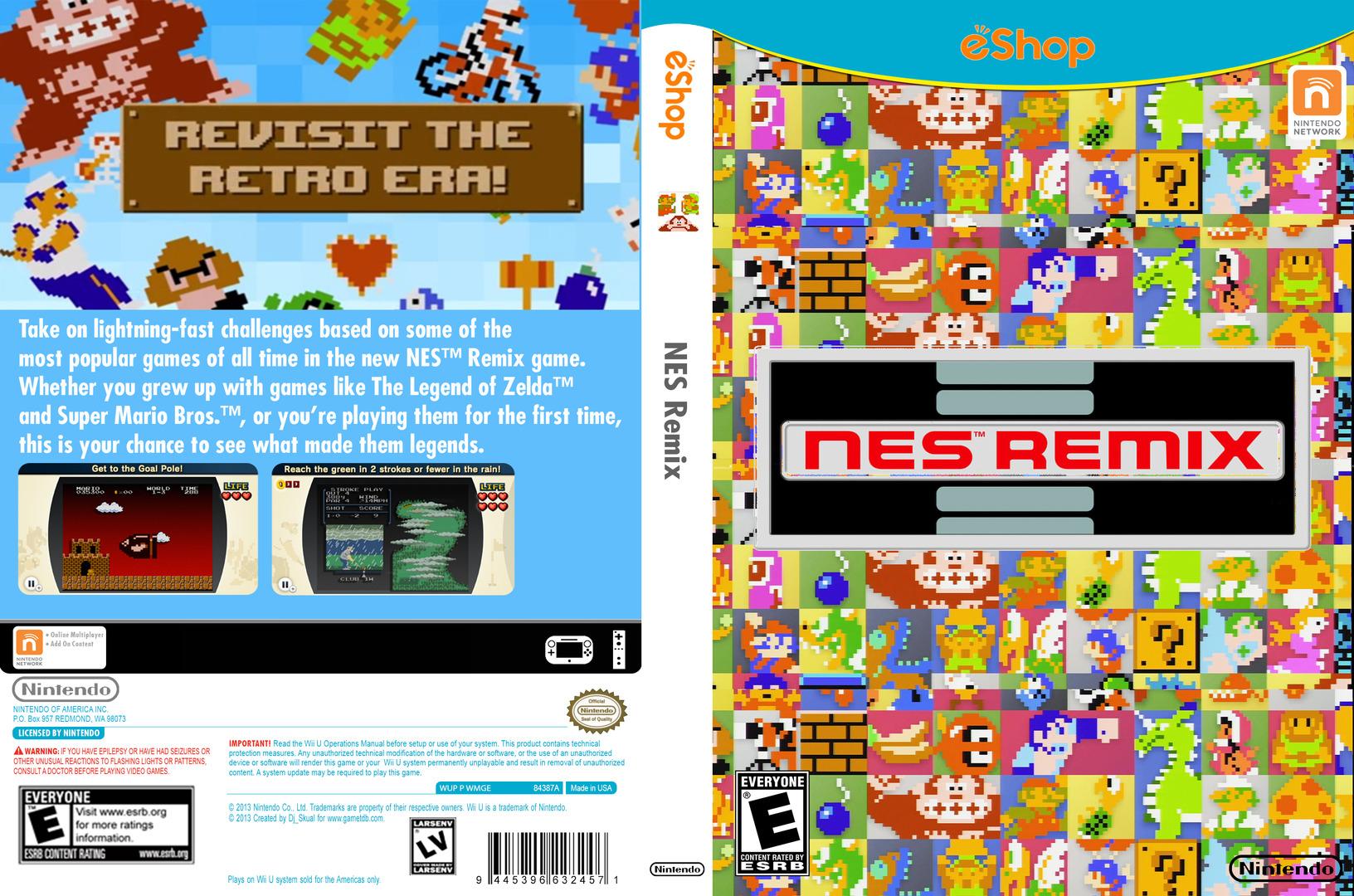 NES Remix WiiU coverfullHQ (WMGE)