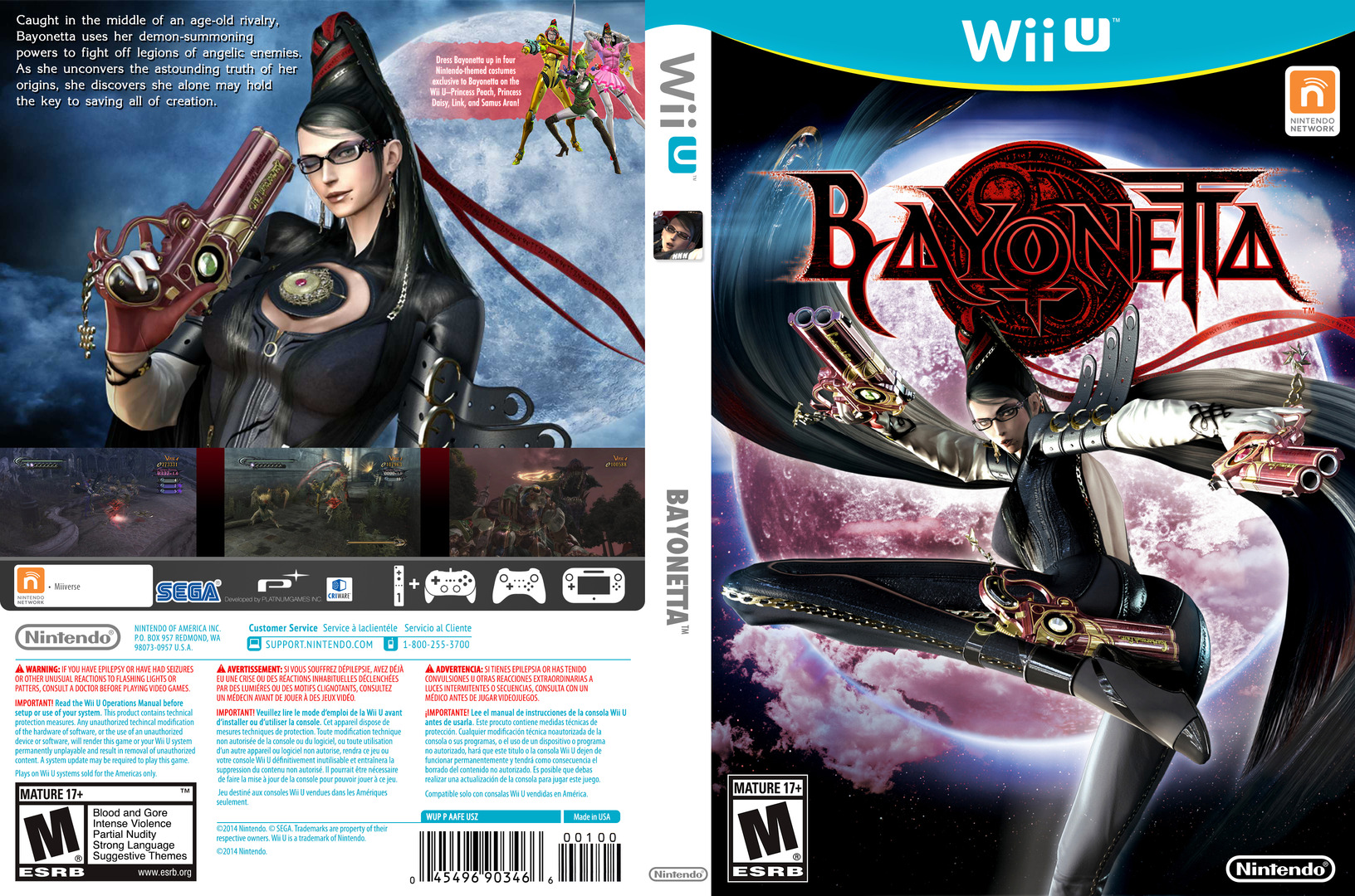 Bayonetta WiiU coverfullHQ2 (AAFE01)