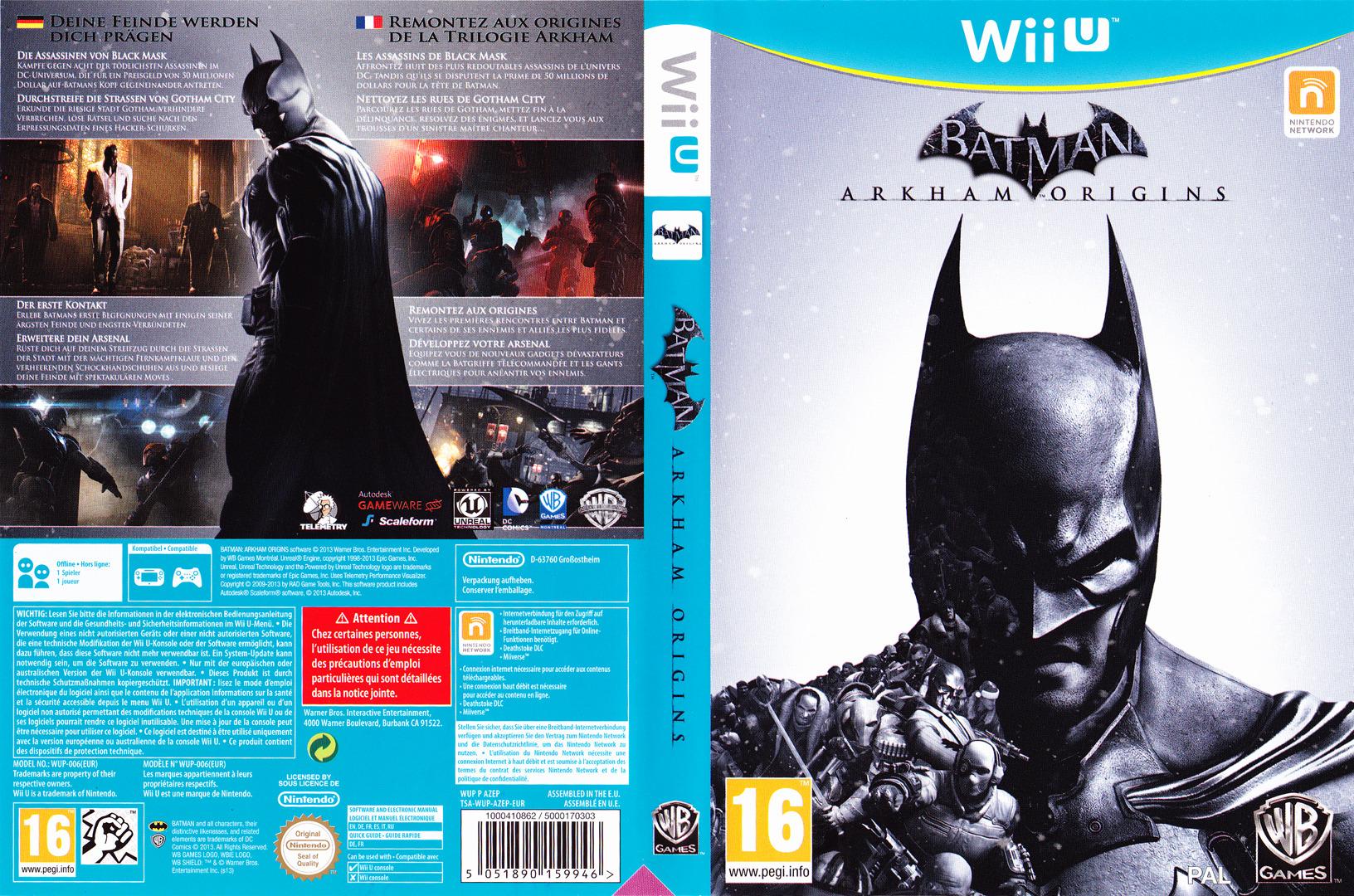 Batman:Arkham Origins WiiU coverfullHQB (AZEPWR)