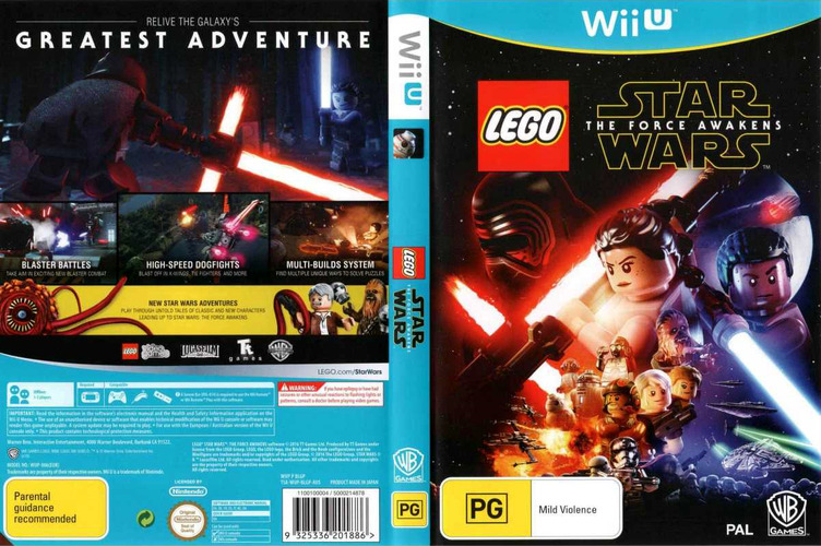 LEGO Star Wars: The Force Awakens WiiU coverfullM (BLGPWR)