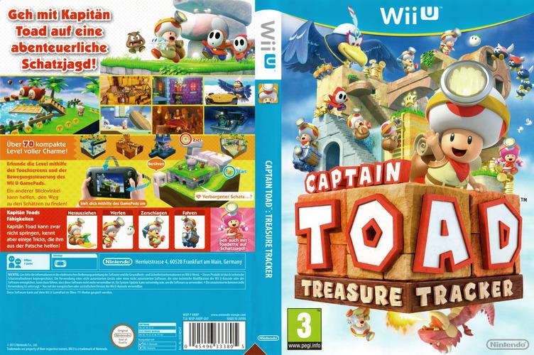 Captain Toad: Treasure Tracker WiiU coverfullM (AKBP01)