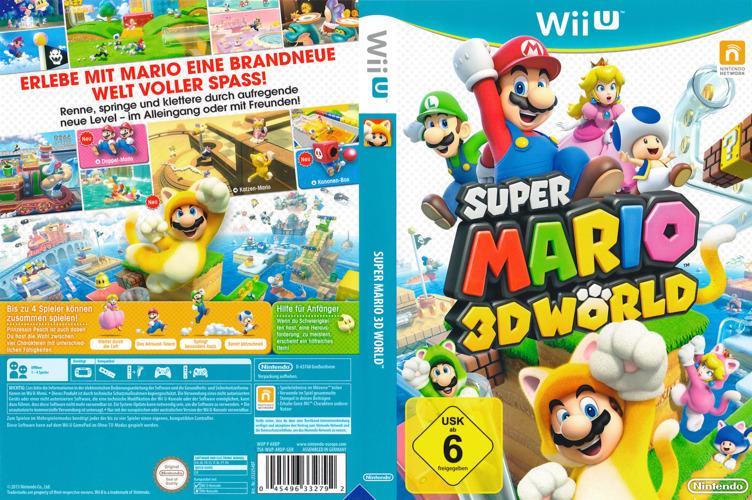 Super Mario 3D World WiiU coverfullM (ARDP01)