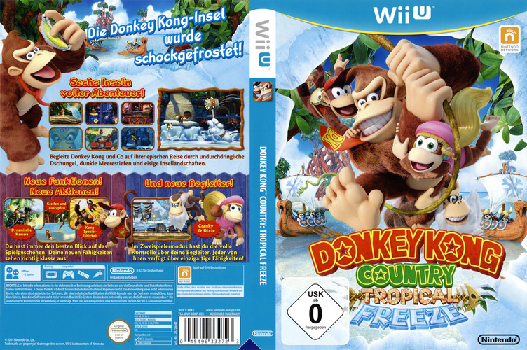 Donkey Kong Country: Tropical Freeze WiiU coverfullM (ARKP01)