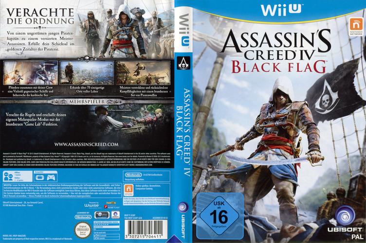 Assassin's Creed IV: Black Flag WiiU coverfullM (ASBP41)