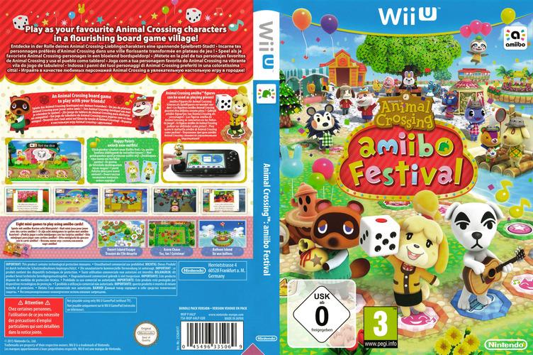 Animal Crossing: amiibo Festival WiiU coverfullM (AALP01)