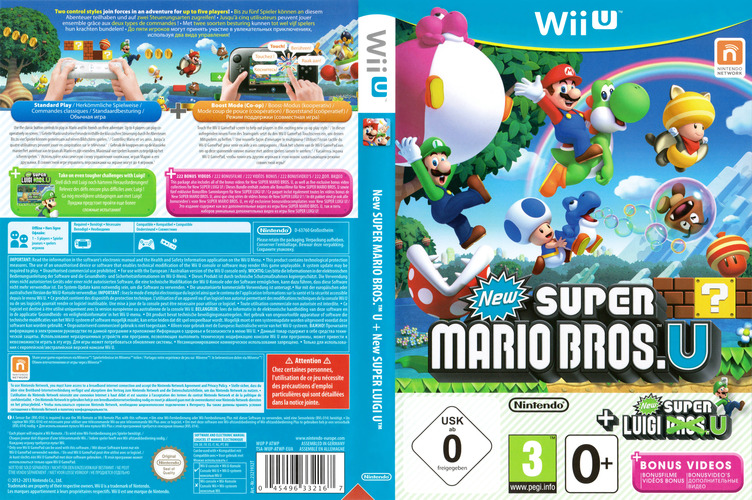 New Super Mario Bros. U + New Super Luigi U WiiU coverfullM (ATWP01)