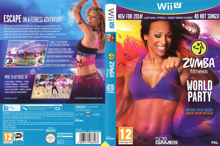 Zumba Fitness World Party WiiU coverfullM (AZBPGT)