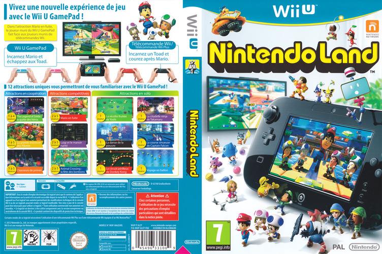 Nintendo Land WiiU coverfullM (ALCP01)