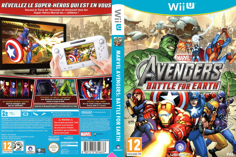 Marvel Avengers: Battle for Earth WiiU coverfullM (AMVP41)