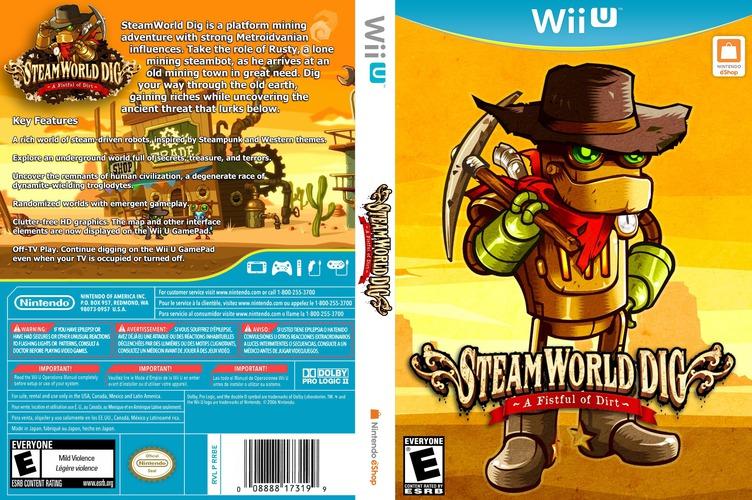 SteamWorld Dig WiiU coverfullM (ADGE)