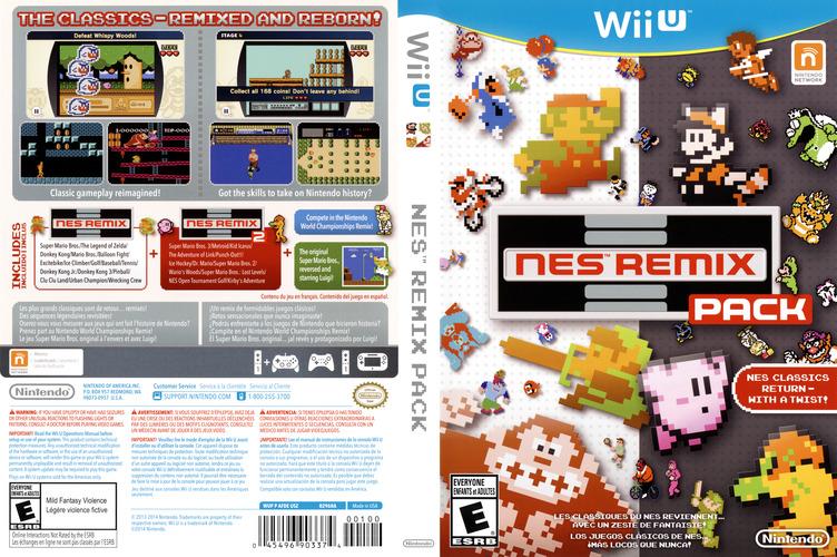NES Remix Pack WiiU coverfullM (AFDE01)
