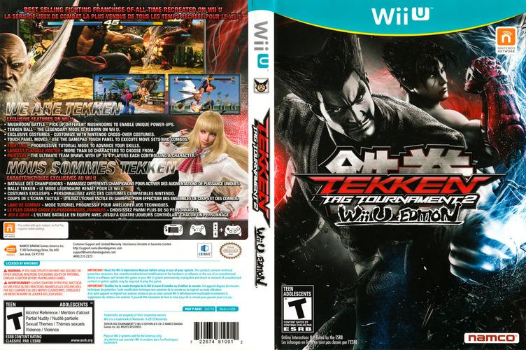 Tekken Tag Tournament 2 WiiU coverfullM (AKNEAF)