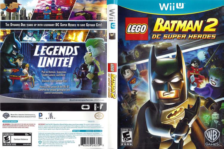 LEGO Batman 2: DC Super Heroes WiiU coverfullM (ALBEWR)