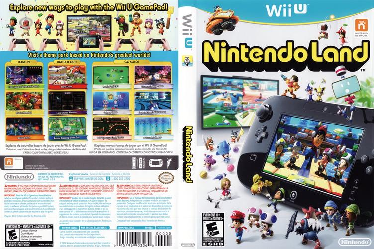 Nintendo Land WiiU coverfullM (ALCE01)