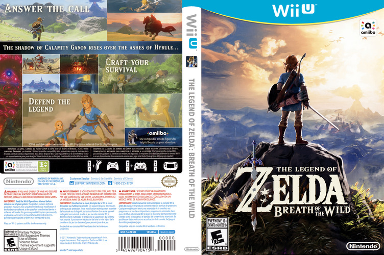 The Legend of Zelda: Breath of the Wild WiiU coverfullM (ALZE01)