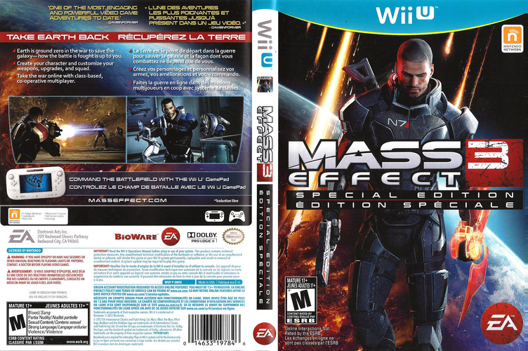 Mass Effect 3: Special Edition WiiU coverfullM (AMEE69)