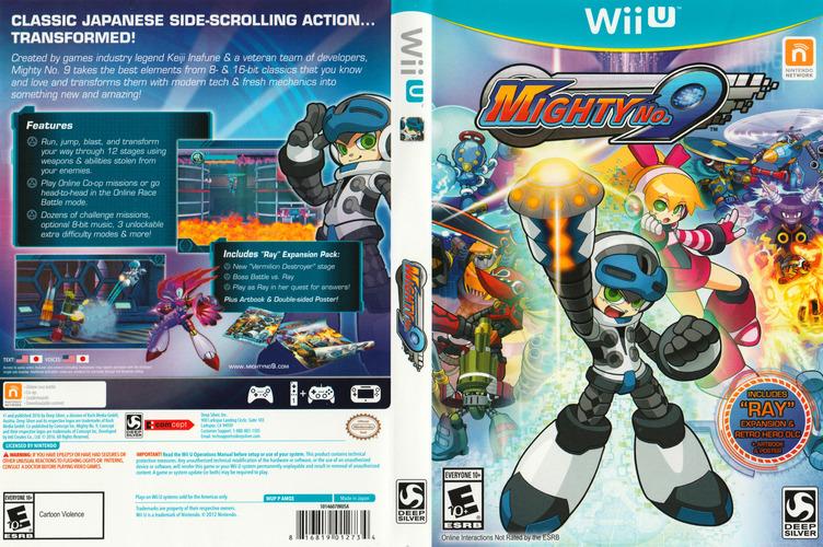 Mighty No. 9 WiiU coverfullM (AMQEJJ)