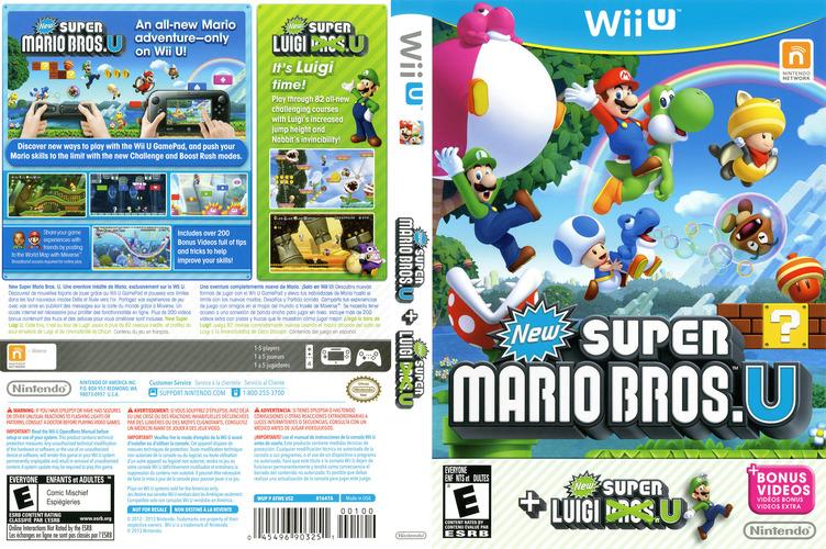 New Super Mario Bros. U + New Super Luigi U WiiU coverfullM (ATWE01)