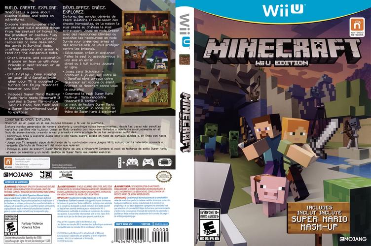Minecraft: Wii U Edition WiiU coverfullM (AUMEDU)