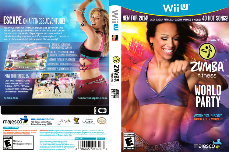 Zumba Fitness World Party WiiU coverfullM (AZBE5G)