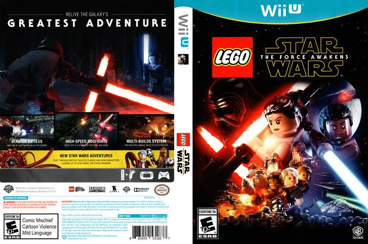 LEGO Star Wars: The Force Awakens WiiU coverfullM (BLGEWR)