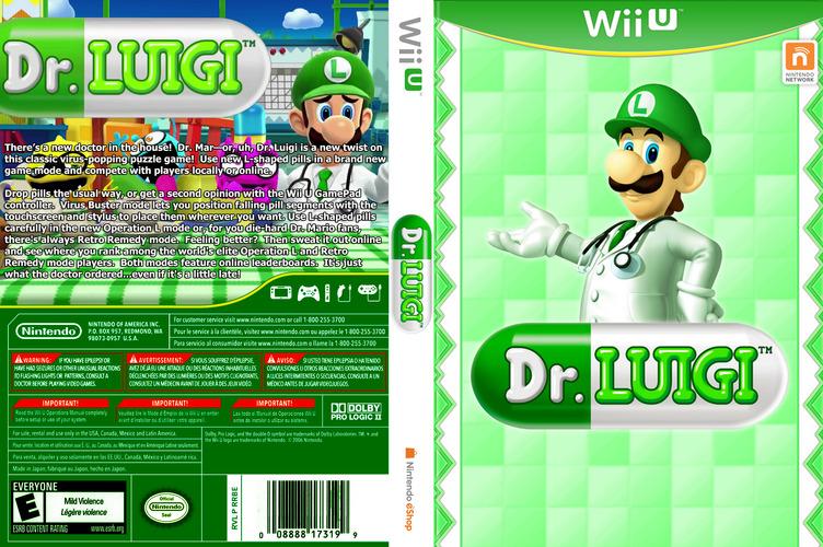Dr. Luigi WiiU coverfullM (WAQE)