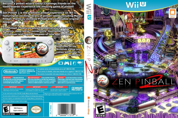 Zen Pinball 2 WiiU coverfullM (WBAE)