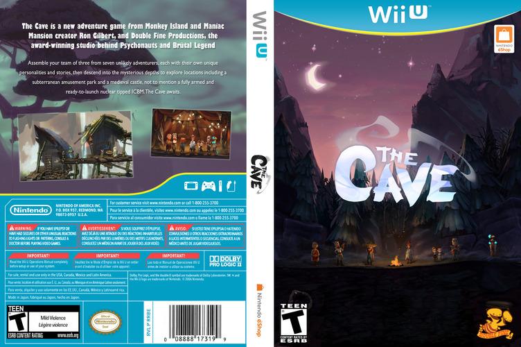 The Cave WiiU coverfullM (WCVE)