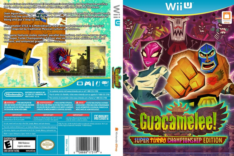 Guacamelee! Super Turbo Championship Edition WiiU coverfullM (WGCE)