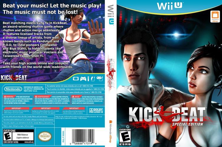 KickBeat Special Edition WiiU coverfullM (WKBE)