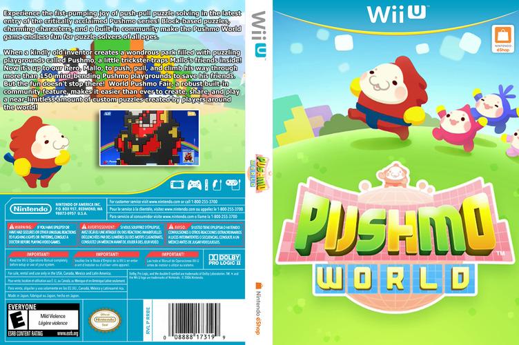 Pushmo World WiiU coverfullM (WKEE)