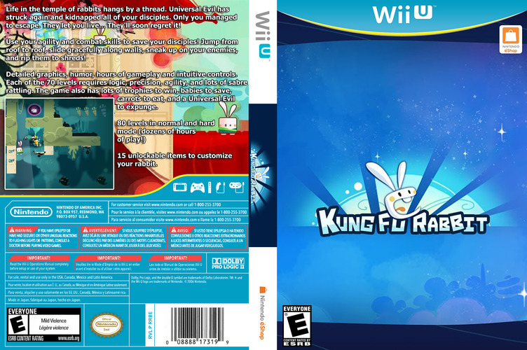 Kung Fu Rabbit WiiU coverfullM (WKFE)