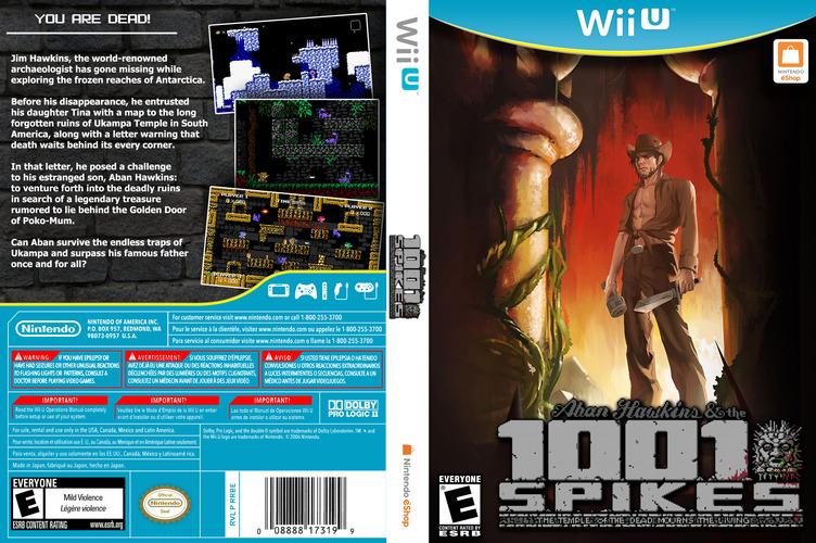 1001 Spikes WiiU coverfullM (WM9E)