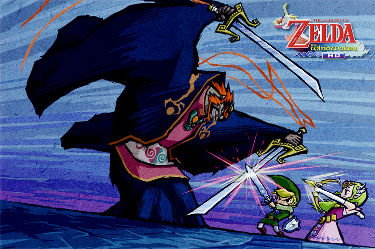 The Legend of Zelda: The Wind Waker HD WiiU coverfullM2 (BCZP01)