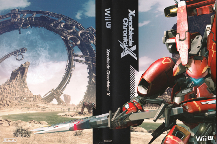Xenoblade Chronicles X WiiU coverfullM2 (AX5E01)
