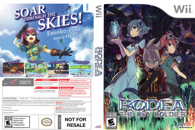 Rodea the Sky Soldier WiiU coverfullM2 (BRDENS)