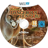 Cabela's Dangerous Hunts 2013 WiiU disc (ACAP52)