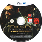 Deus Ex: Human Revolution - Director's Cut WiiU disc (ADXPGD)