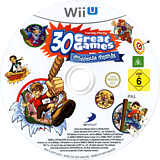 Family Party: 30 Great Games Obstacle Arcade WiiU disc (AFPPAF)