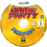 Game Party Champions WiiU disc (AGPPWR)
