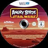 Angry Birds Star Wars WiiU disc (AGRP52)