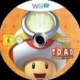 Captain Toad: Treasure Tracker WiiU disc (AKBP01)